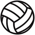 Volleyball 2019-20 Logo